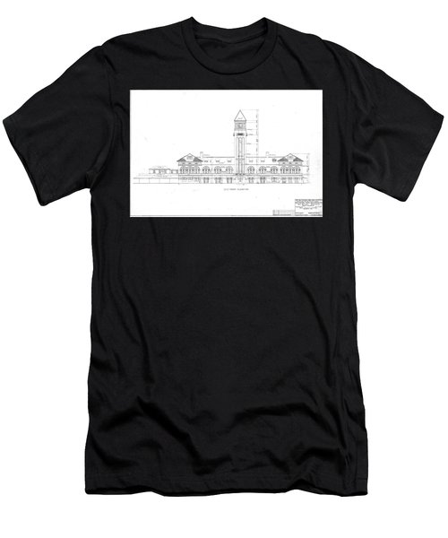 Mount Royal Station Men's T-Shirt (Athletic Fit)
