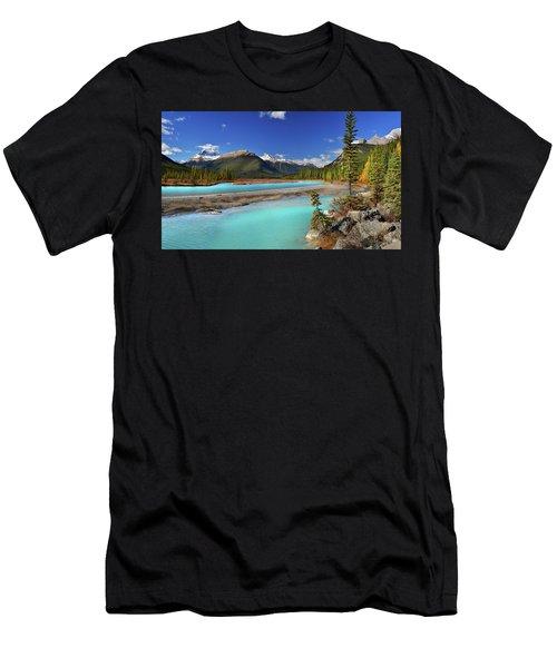 Mount Saskatchewan Men's T-Shirt (Athletic Fit)