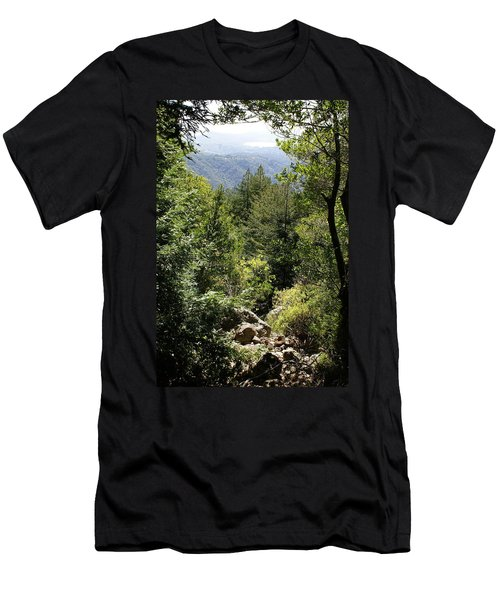 Mount Tamalpais Forest View Men's T-Shirt (Athletic Fit)
