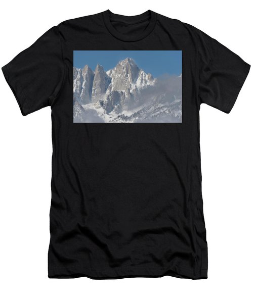 Mount Whitney In March Men's T-Shirt (Athletic Fit)