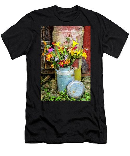 Mountain Bouquet Men's T-Shirt (Athletic Fit)