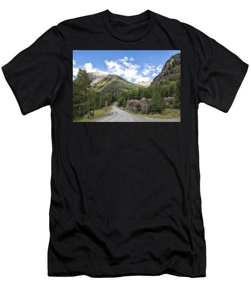 Mountain Crossroads Men's T-Shirt (Athletic Fit)