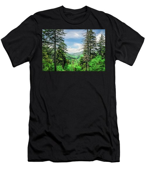 Mountain Forest Men's T-Shirt (Athletic Fit)