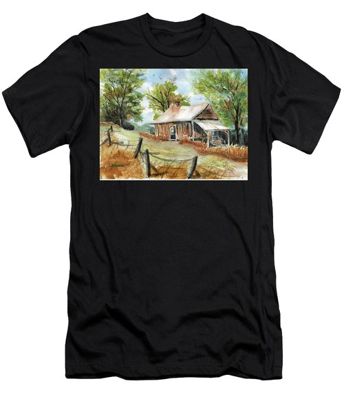 Mountain Get-away Men's T-Shirt (Athletic Fit)