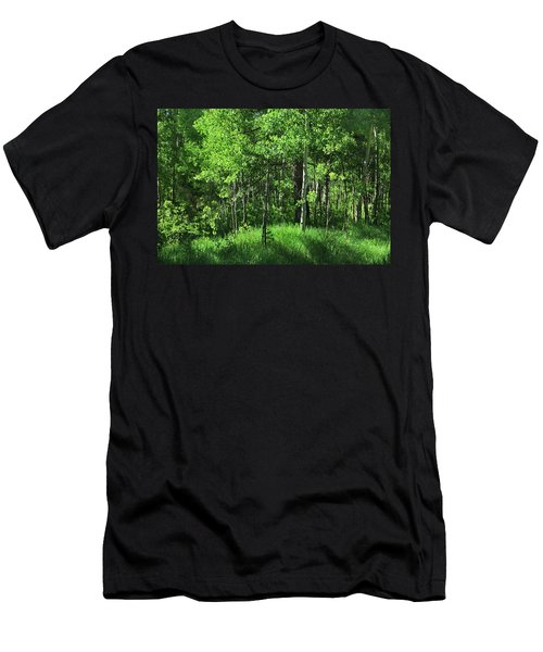 Mountain Greenery Men's T-Shirt (Athletic Fit)