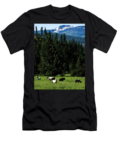 Mountain Herd Men's T-Shirt (Athletic Fit)