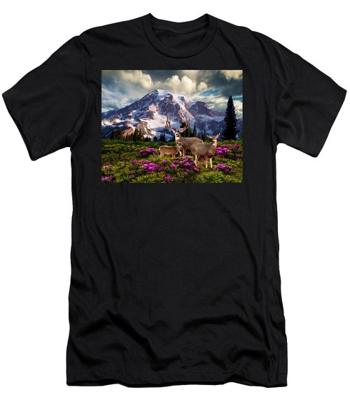 Mountain High Meadow Men's T-Shirt (Athletic Fit)