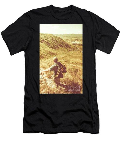 Mountain Hiking Australia Men's T-Shirt (Athletic Fit)