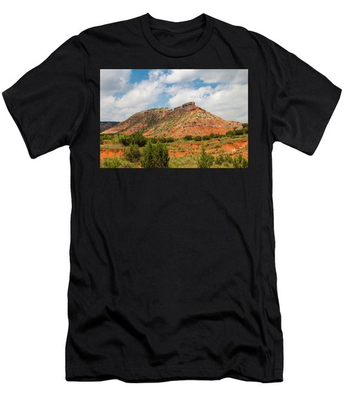 Mountain In Palo Duro Canyons Men's T-Shirt (Athletic Fit)