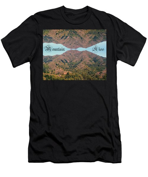 Mountain Kiss  Men's T-Shirt (Athletic Fit)