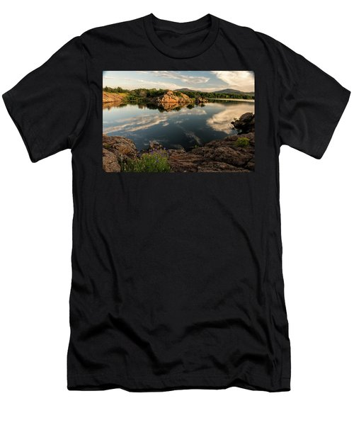 Mountain Lake Men's T-Shirt (Athletic Fit)