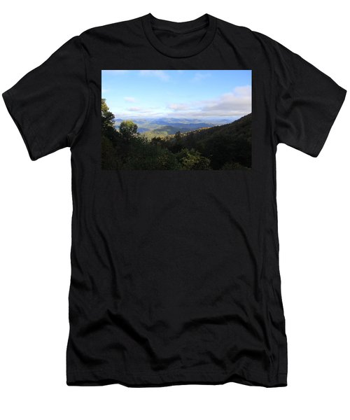 Mountain Landscape 1 Men's T-Shirt (Athletic Fit)