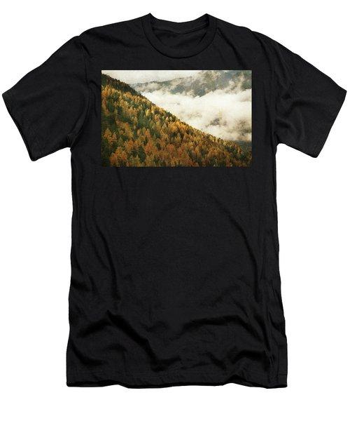 Mountain Landscape Men's T-Shirt (Athletic Fit)