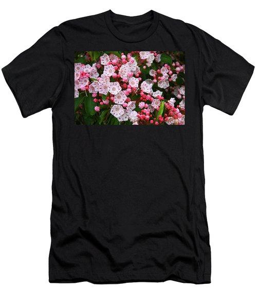 Mountain Laurels Men's T-Shirt (Athletic Fit)
