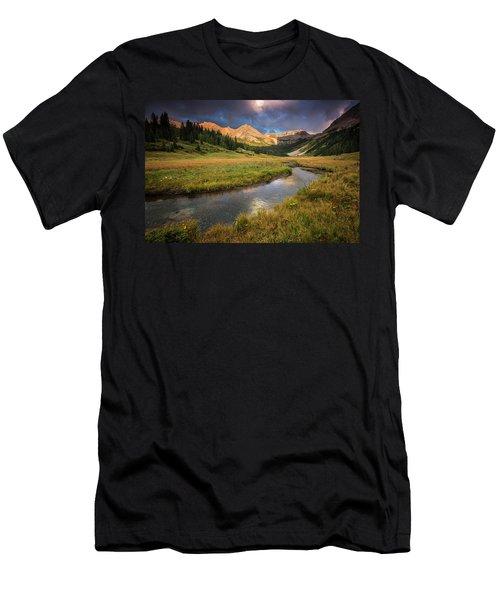 Mountain Light Men's T-Shirt (Athletic Fit)