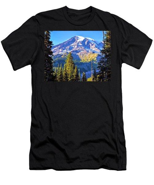 Mountain Meets Sky Men's T-Shirt (Athletic Fit)