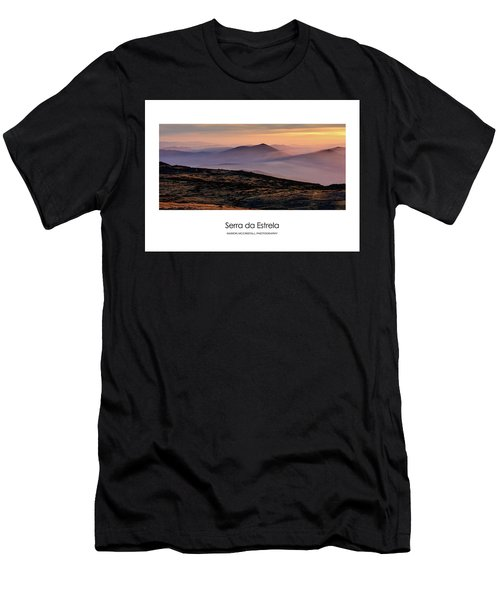 Mountain Mist Poster Men's T-Shirt (Athletic Fit)