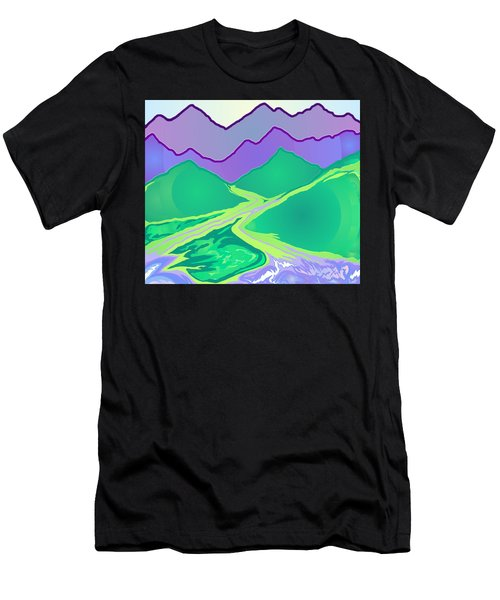 Mountain Murmurs Men's T-Shirt (Athletic Fit)