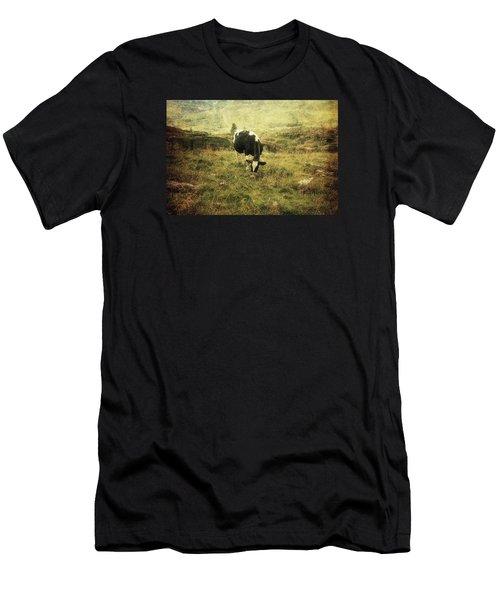Mountain Pastures  Men's T-Shirt (Athletic Fit)