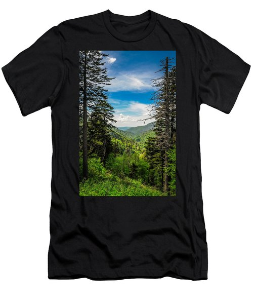 Mountain Pines Men's T-Shirt (Athletic Fit)