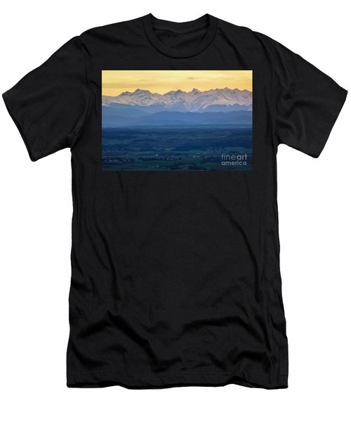 Mountain Scenery 15 Men's T-Shirt (Athletic Fit)