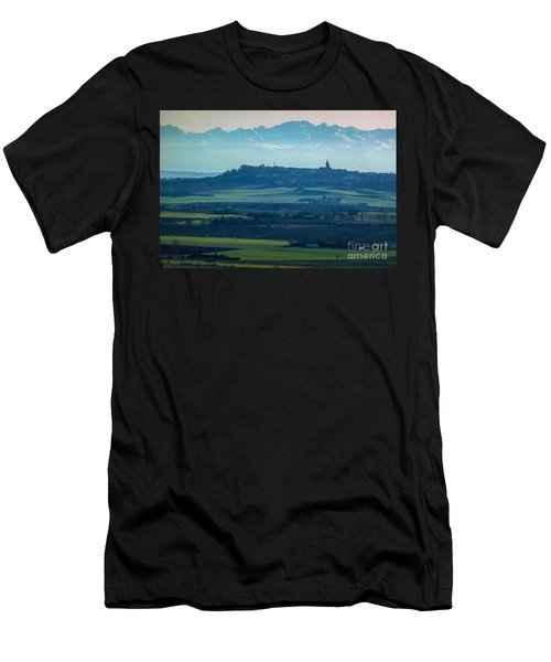 Mountain Scenery 4 Men's T-Shirt (Athletic Fit)