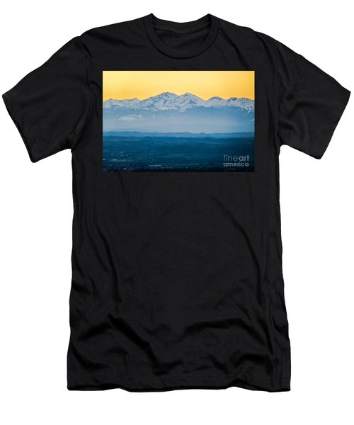 Mountain Scenery 7 Men's T-Shirt (Athletic Fit)