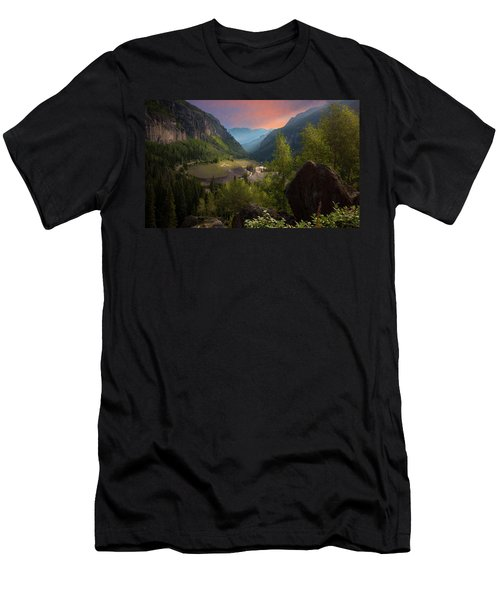 Mountain Time Men's T-Shirt (Athletic Fit)