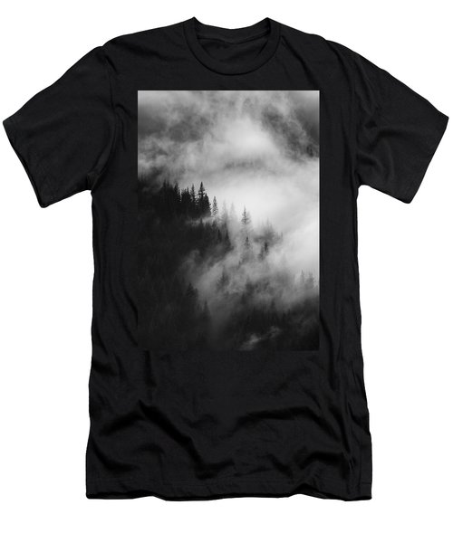 Mountain Whispers Men's T-Shirt (Athletic Fit)