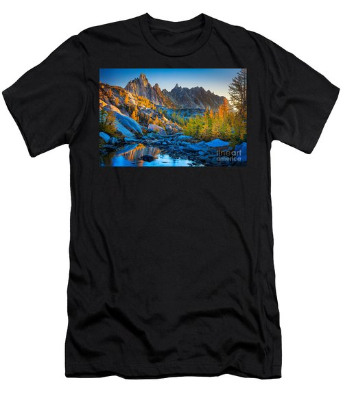 Mountainous Paradise Men's T-Shirt (Athletic Fit)