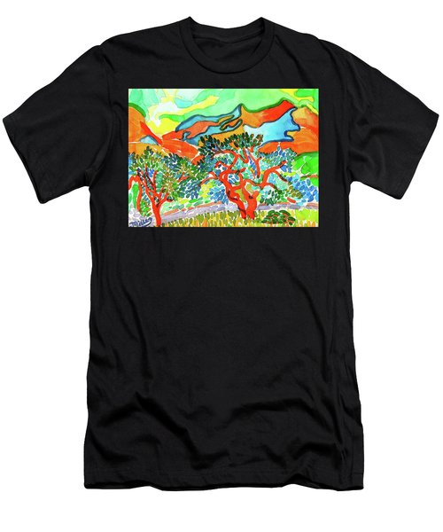 Mountains At Collioure Men's T-Shirt (Athletic Fit)