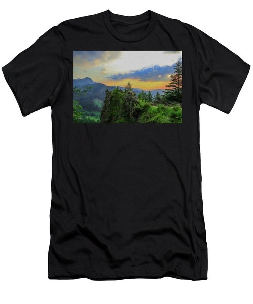 Mountains Tatry National Park - Pol1003778 Men's T-Shirt (Athletic Fit)