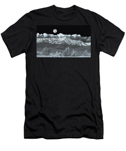Mountains, When High Enough And Tough Enough, Measure Men.  Men's T-Shirt (Athletic Fit)