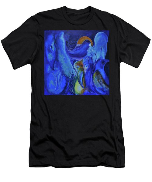 Mourning Birds Of The Final Flower Men's T-Shirt (Athletic Fit)