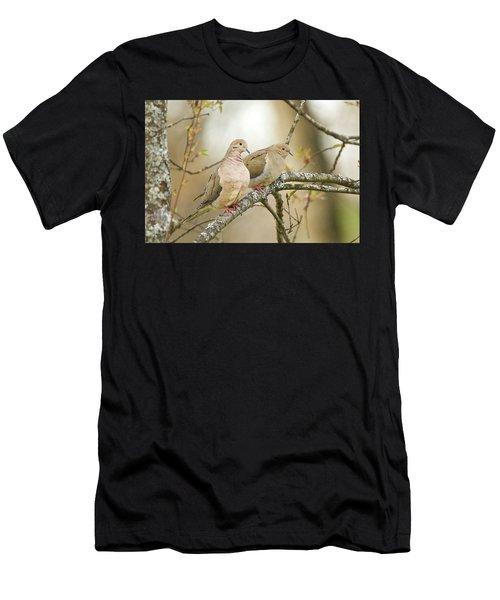 Mourning Doves 4142 Men's T-Shirt (Athletic Fit)