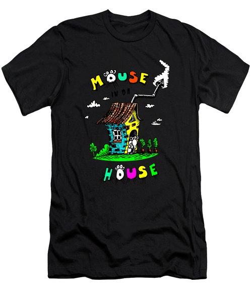 Mouse In Da House Men's T-Shirt (Athletic Fit)