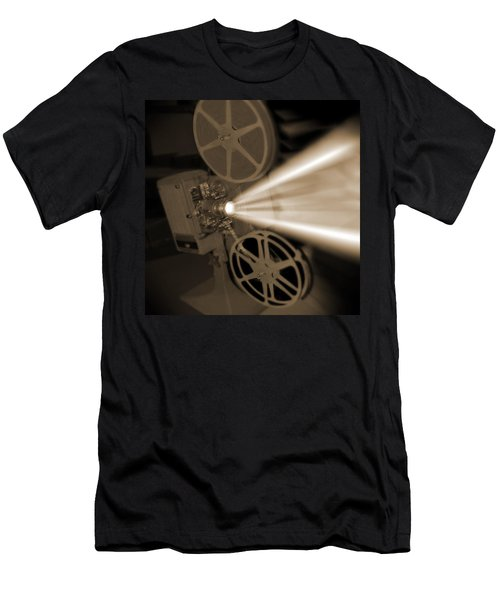 Movie Projector  Men's T-Shirt (Athletic Fit)