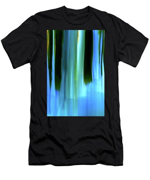 Moving Trees 37-05 Portrait Format Men's T-Shirt (Athletic Fit)
