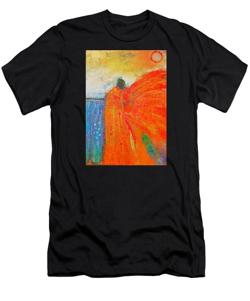 Mprints - Angel Of The Morning Men's T-Shirt (Athletic Fit)