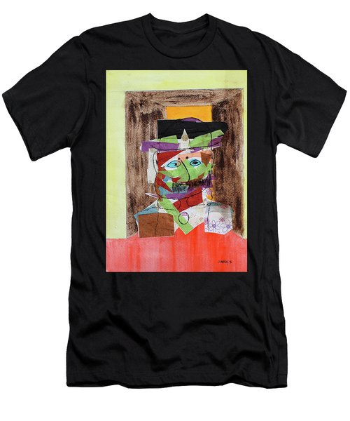 Mr Bloom Collage Men's T-Shirt (Athletic Fit)