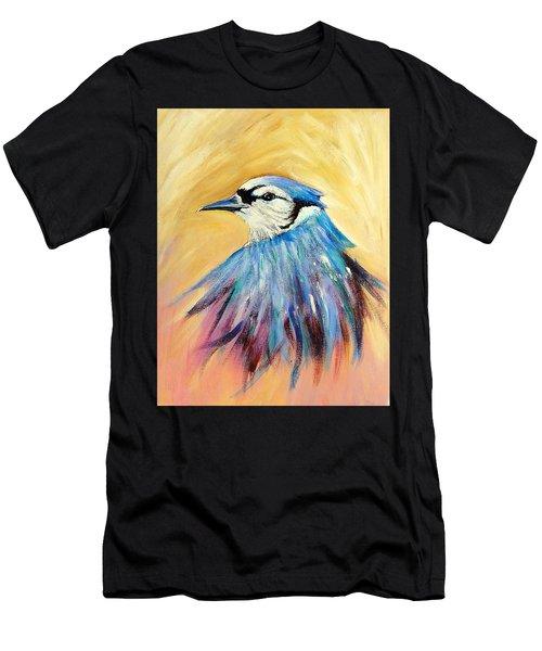 Mr. Blue Men's T-Shirt (Athletic Fit)