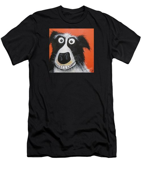 Mr Dog Men's T-Shirt (Athletic Fit)