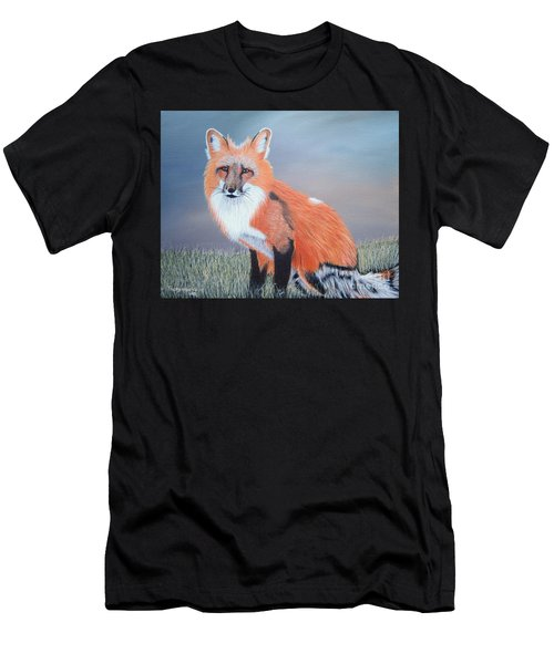 Mr. Fox Men's T-Shirt (Athletic Fit)