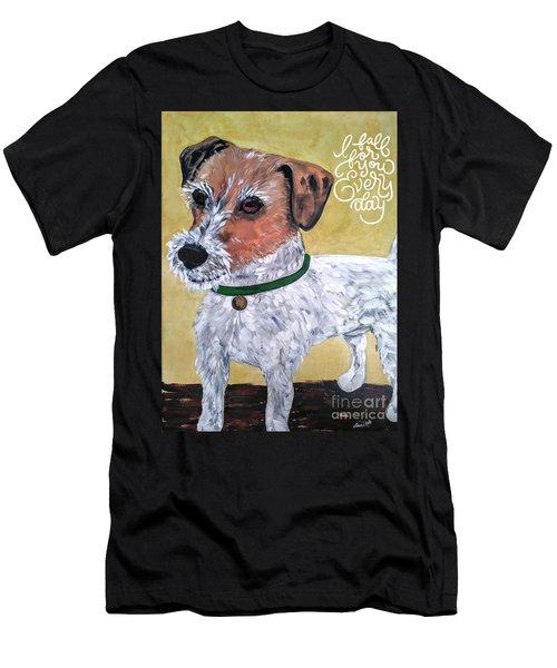 Mr. R. Terrier Men's T-Shirt (Athletic Fit)