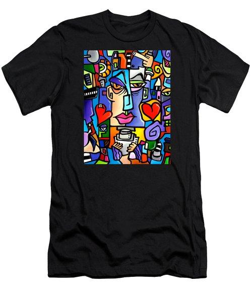 Mr Roboto Men's T-Shirt (Athletic Fit)