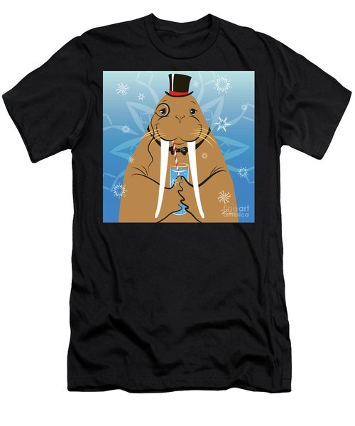 Mr. Walrus Men's T-Shirt (Athletic Fit)