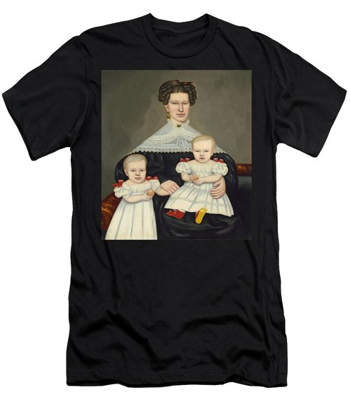 Mrs Paul Smith Palmer And Her Twins Men's T-Shirt (Athletic Fit)