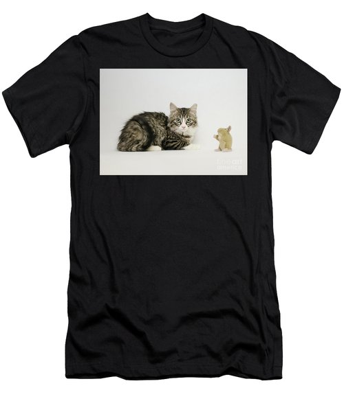 Ms Alexia And Mouse Men's T-Shirt (Athletic Fit)