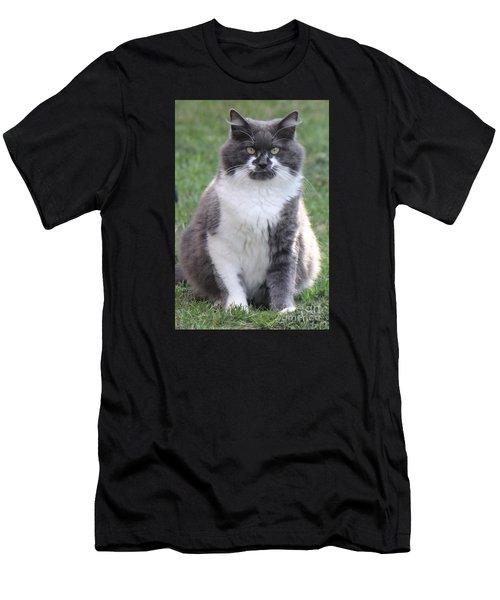 Ms. Mustache Men's T-Shirt (Athletic Fit)