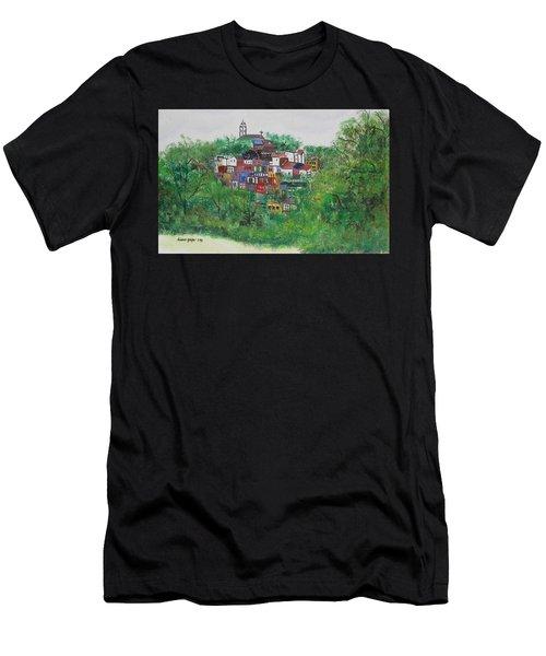 Mt. Adams  Cincinnati Ohio Men's T-Shirt (Athletic Fit)